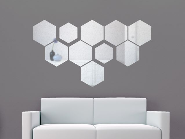 Reflective beehive | Wall sticker