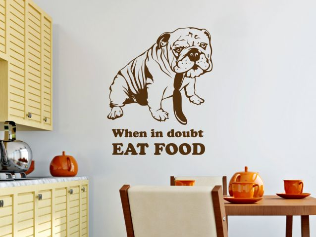 When in doubt - eat food