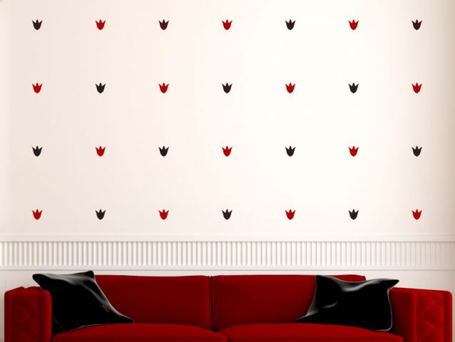 Lotus | Wall sticker set