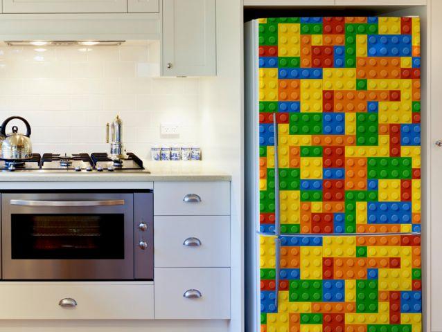 Lego fridge Decor sticker
