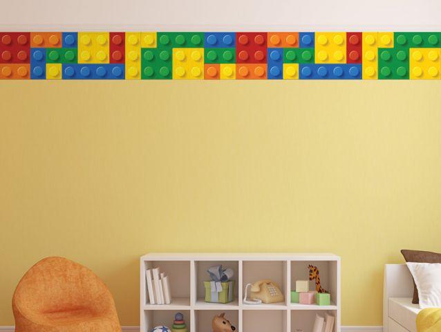 Lego border   Wall sticker