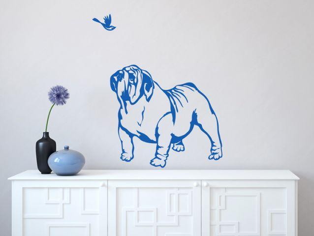 sweet bulldog dog