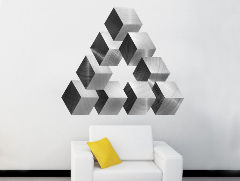 Complex triangle | Wall sticker