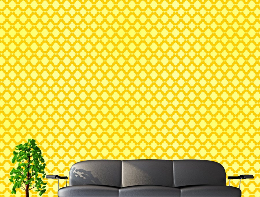 wallpapers yellow geometry