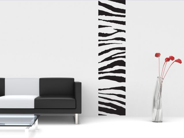 Zebra banner | Wall sticker
