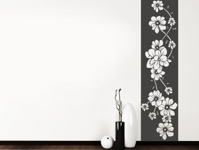 Floral banner | Wall sticker