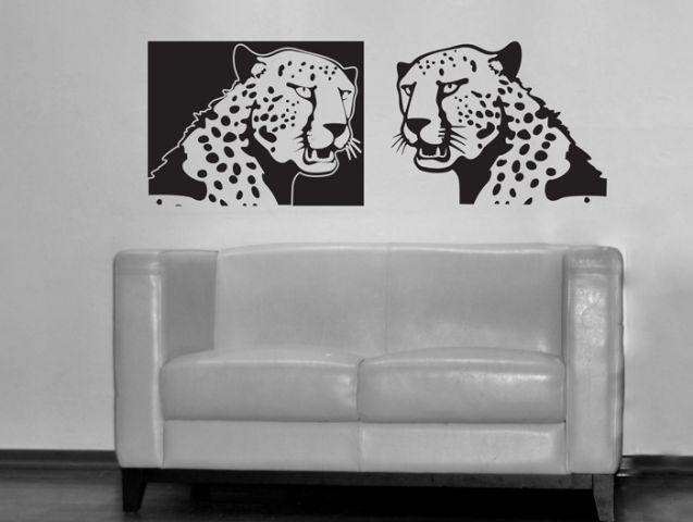 Fierce tigers | Wall sticker