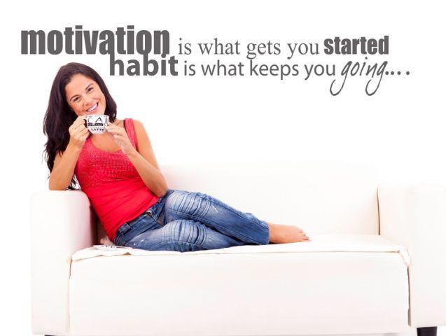 Motivation | Wall sticker