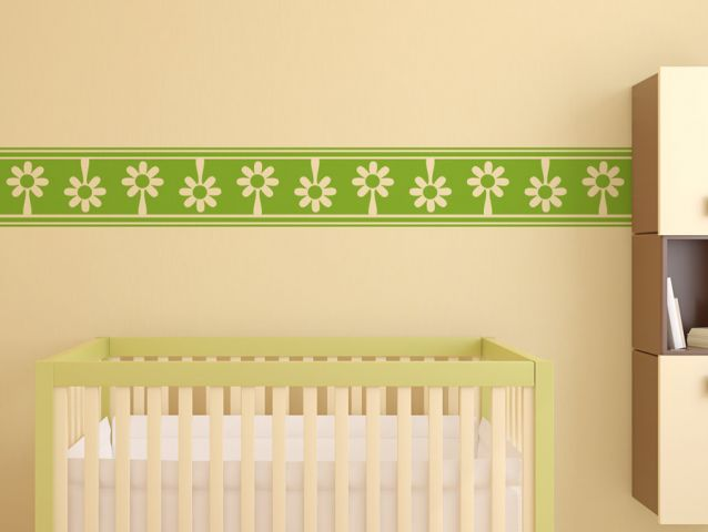 Flower banner | Wall sticker