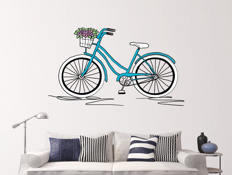 Bicycle on a beautiful day
