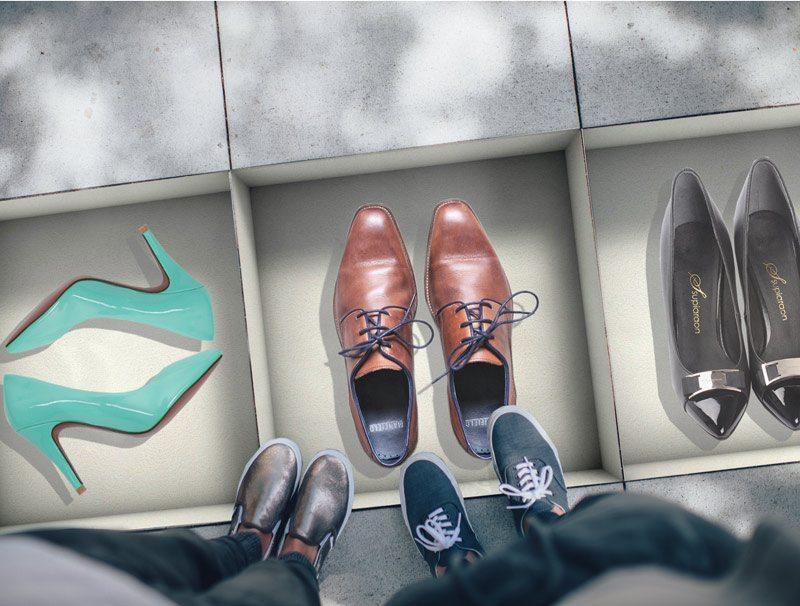 מדבקות קיר   מדבקות נישה לרצפה   קופסאות נעליים