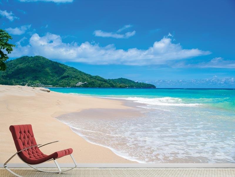 Wallpaper | beach on a island