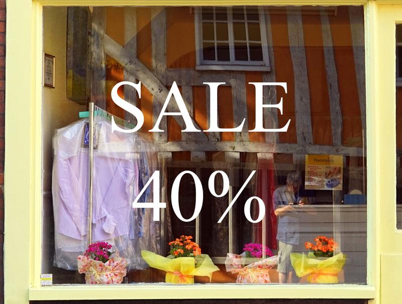 Glass Sticker - Sale 40%