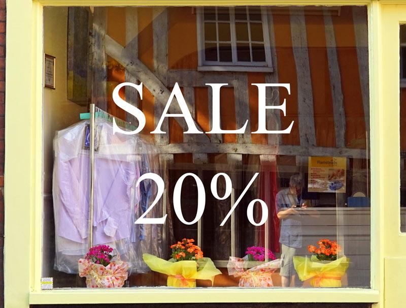 Glass Sticker – Sale 20%