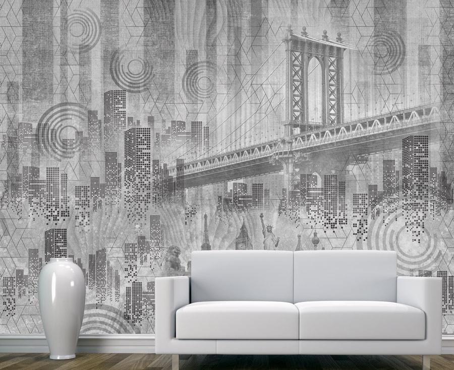 Wallpaper | A concrete city